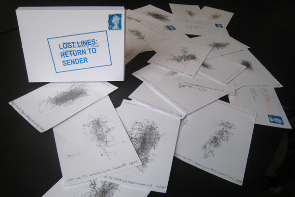 Lost Lines: Return to Sender by Jane Grisewood