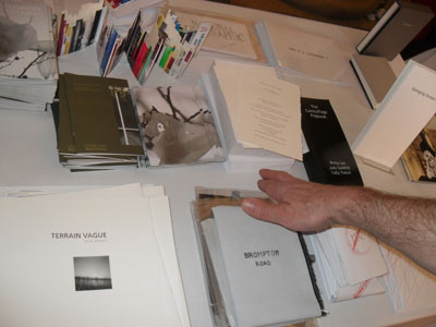 AMBruno books at Leeds 14th International Contemporary Artists' Book Fair