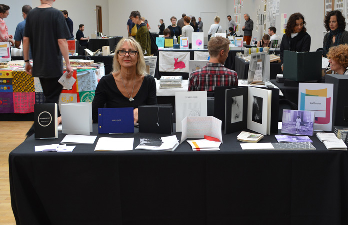 AMBruno: Lines at the London Art Book Fair