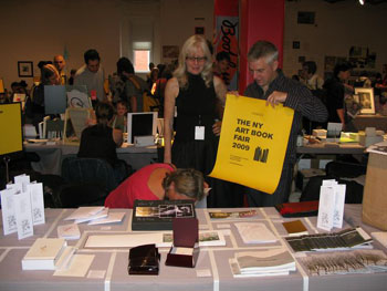 AMBruno at the New York Art Book Fair