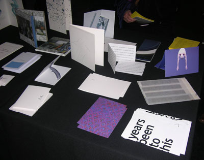 One-fold books at the ICA, 2013