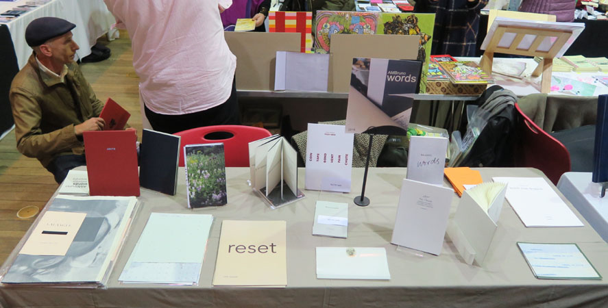 AMBruno: words at Small Publishers Fair 2016
